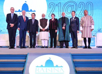 Raisina Dialogue begins in New Delhi