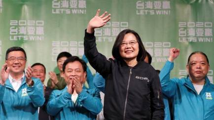 Taiwan election: Tsai Ing-wen wins second presidential term