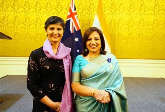 Mazumdar-Shaw to receive highest Australian civilian honour