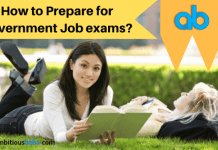 How to Prepare for Government Job exams