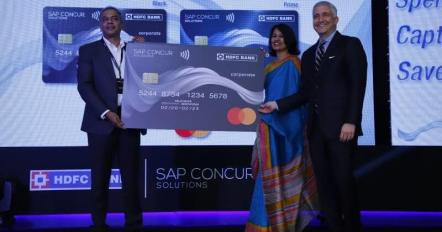 HDFC Bank, Mastercard, SAP Concur join hands to manage spending in corporate sector