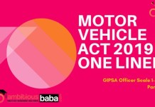 Motor Vehicle Act 2019