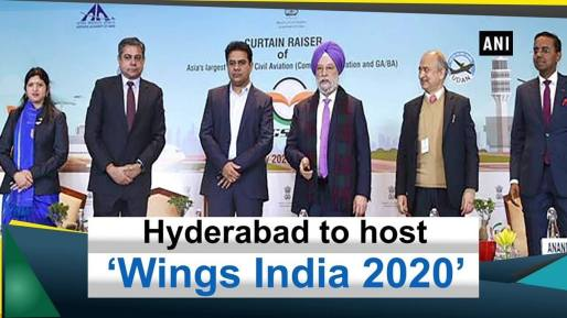 """Hyderabad hosts """"Wings India 2020"""""""