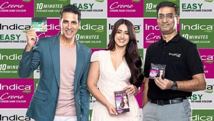 Cavinkare appointed Akshay Kumar, Ileana D'Cruz as brand ambassadors for Indica hair colour