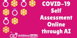 COVID-19 Self Assessment Online through AI