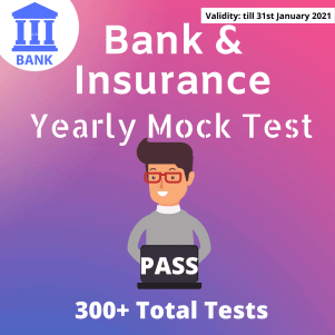 Bank Test Pass Yearly