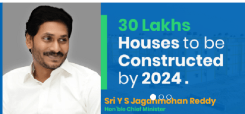 YSR Jagananna colonies with 30 lakh houses to be built in Andhra Pradesh