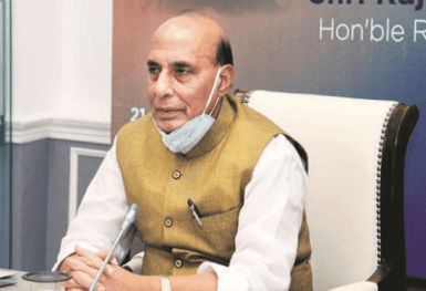 Rajnath Singh launches online portal 'SRIJAN' to promote indigenisation in defence production