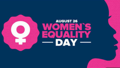 26th August: Women's Equality Day 2020