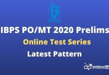 IBPS PO Prelims Test Series 2020