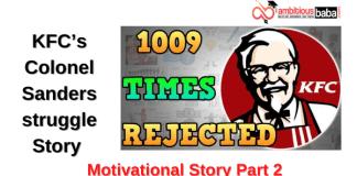 KFC's Colonel Sanders story