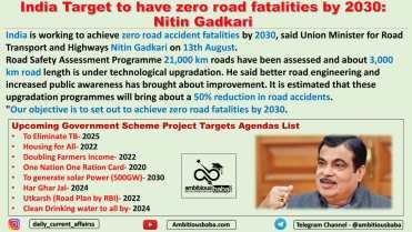 India Target to have zero road fatalities by 2030: Nitin Gadkari