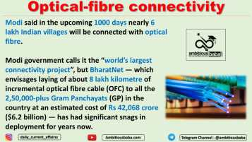 Optical-fibre connectivity