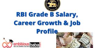 RBI Grade B Salary, Career Growth & Job Profile 2020