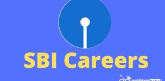 SBI Careers recruitment page