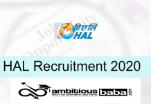 HAL for Apprentice & Faculty Recruitment 2020 : 2000 Post check here