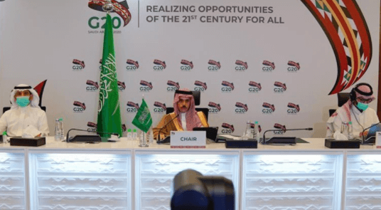 Saudi Arabia chairs G20 Foreign Ministers' Extraordinary Meeting