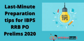 Last-minute tips for IBPS RRB PO Prelims 2020
