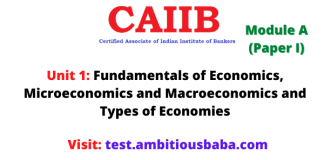 Fundamentals of Economics, Microeconomics and Macroeconomics and Types of Economies