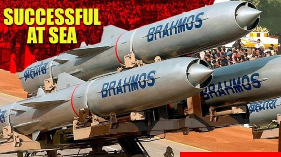 BRAHMOS missile test-fired successfully
