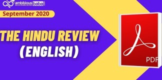 The Hindu Review English PDF