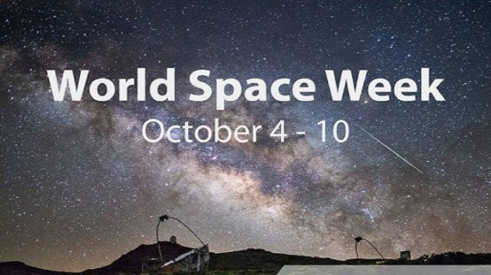 4 to 10 October: World Space Week