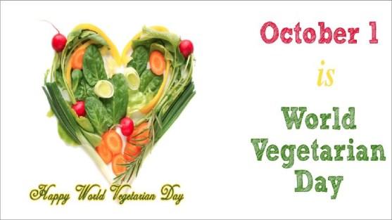 1st October: World Vegetarian Day 2020