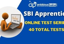 SBI Apprentice Online Test Series