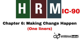 PARA 13.2|IC 90, HRM One Liner|Chapter-5 | Development of Human Resources
