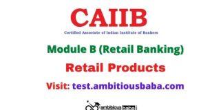 CAIIB Retail Banking Module B PDF