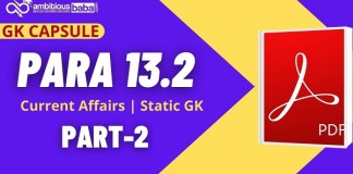 Para 13.2 GK CAPSULE Part-2