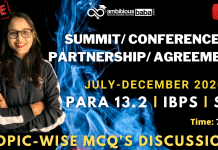List of Summit and Partnership (July to December 2020): Download PDF
