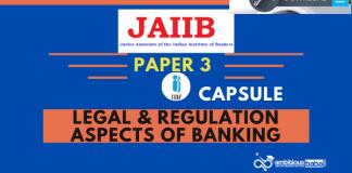 JAIIB/DBF LRAB Paper-3 Capsule (Legal & Regulation Aspects of Banking) PDF 2.0