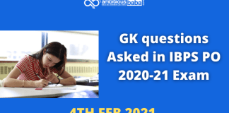 GK Qustions Asked in IBPS PO