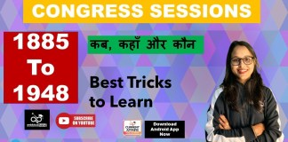 Congress Session: 1885 to 1948