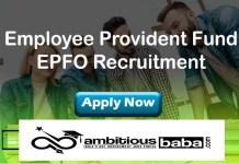EPFO Recruitment 2021 : 44 Post for CISO,CISO,CTO,IS