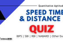 Speed Time & Distance for IBPS , SBI , RBI