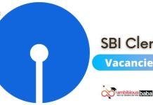 SBI Clerk Vacancies