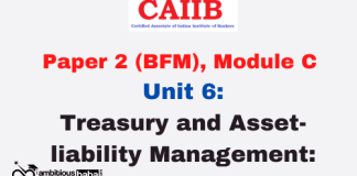 Treasury and Asset- liability Management: CAIIB