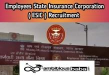 ESI PGIMSR Basaidarapur Recruitment 2021 : 112 Post for Sr Resident