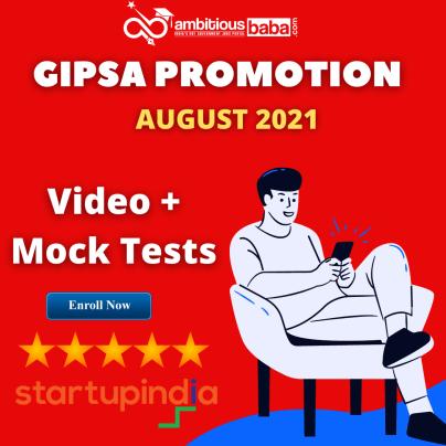 GIPSA Promotion exam 2021