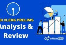 sbi Clerk Pre 2021 Review