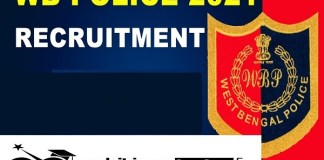 WB Police Recruitment 2021 : 330 Post for SI