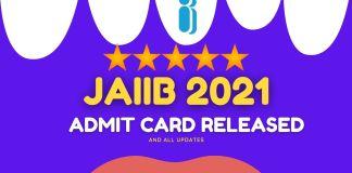 JAIIB Admit Card 2021