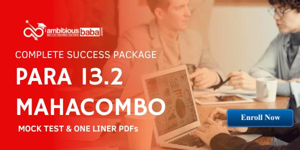 Para 13.2 Mahacombo Package