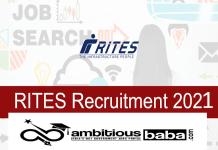 RITES Recruitment 2021 : 40 Post for Engineer (Civil)