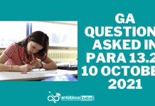 GK Questions asked in Para 13.2 exam: 10th October 2021