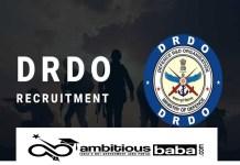 DRDO Recruitment 2021 : 116 Post for Apprentices
