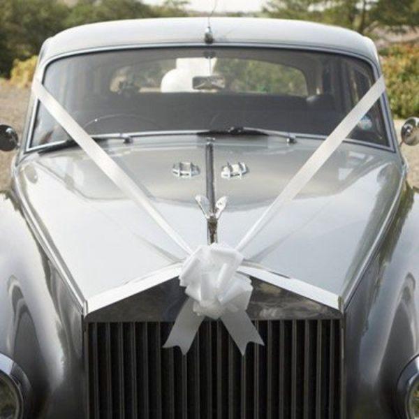 wedding car ribbons