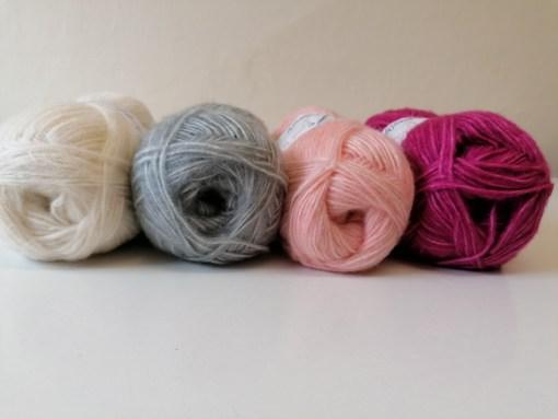wendy fleur DK yarn 100g soft summer cotton double knit